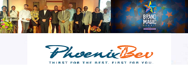 Phoenix crowned top Mauritian brand at 2nd Brand Magic Summit 2016